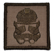 Stormtrooper Patch 5.1cm x 5.1cm Military Patch / Morale Patch - Coyote Brown