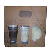 La Bella Provincia Honey Vanilla Gift Set - Body Wash, Lotion & Puff