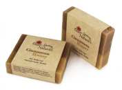 All Natural Cinnamon Honey Handmade Bar Soap by Desert Spring Naturals Made With Olive Oil