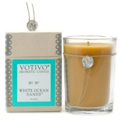Votivo Aromatic Candle White Ocean Sands by Votivo