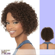 HB-MARCH (Motown Tress) - Human Hair Blend Full Wig in F1B_30 by Motown Tress