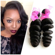 Mixed Length 10-26 Inche Loose Wave Brazilian Virgin Remy Human Hair Weave Weft 3 Bundles 300 Grammes Unprocessed Natural Colour Extensions 100% Brazilian Human Hair Extensions