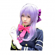 DAYISS Sexy LOLITA Style Taro Wig Nature Long Straight Hair Braids Costume Anime Cos Wig