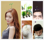 Novelty Plant Antenna hairpins, 2015 New Popular Unisex hairpins, Funny grass flower Women Men Children Adult Pet Hair Clips Hairclips Barrettes Bobby Pin Wedding Party Hair Decoration GIFT Jewellery