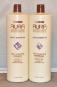 Aura Colour Protecting Shampoo & Conditioner Set 1000ml each