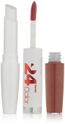 Maybelline New York Superstay 24, 2-step Lipcolor, Timeless Toffee 150, 1 Fluid Ounce