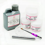 Coscelia Base Acrylic Powder Liquid Starter Kit with Nail Art Brush