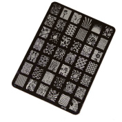 Nail Decals, Tonsee Nail Stamping Printing Plate Manicure Nail Art Decor Image Stamps Plate