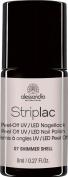 Alessandro striplac nail polish 07 shimmer shell