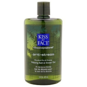 Kiss My Face Antistress Shower and Bath Gel Woodland Pine and Ginseng -- 470ml by Kiss My Face