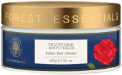 "Forest Essentials Indian Rose Absolute Velvet Silk Body Cream, 200g --""Shipping by FedEx"""