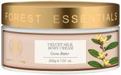 "Forest Essentials Velvet Silk Cocoa Butter Body Cream, 200g - --""Shipping by FedEx"""