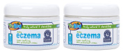 TruKid Easy Eczema Cream 350ml Jar - 2 Pack