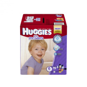 Huggies Little Movers Nappies, Size 6, 76 Count