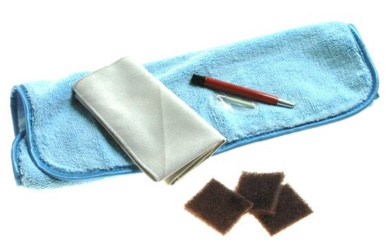 Satin / Brushed Finish Scratch Removal Kit for Watches