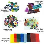 476g (10 Bags) Coe90 Fusing Glass for Microwave Kiln