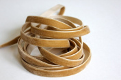 1cm Velvet Ribbon 25 Yard Roll Tan Colour