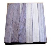 North American Walnut Wood Turning Pen Blanks | Wood Pen Blanks 6 Pack | 1.9cm X 1.9cm X 13cm