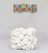 Happy Birthday Cello Bags, Pack of 25 Great for Birthdays