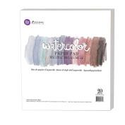 Prima Marketing - 30cm x 30cm Watercolour Paper Pad 20pc 60kg cold press