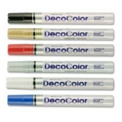 Paint Marker, Broad Point, White, Sold as 1 Each