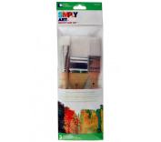 Loew Cornell Simply Art Nylon Brush Set, Large, White