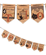 Bethany Lowe Halloween Potions Pennant Garland