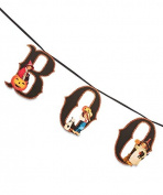 """Bethany Lowe Vintage Inspired Children """"Boo"""" Garland"""