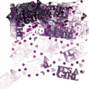 Christening Its A Girl Table Confetti - Girls Or Naming Ceremony - Great Table Decoration