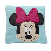 Disney Minnie Decorative Pillow, Turquoise by Disney Baby