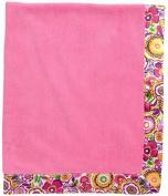 Vera Bradley Plush Blanket in Clementine by Vera Bradley