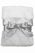 Bearington Baby Elephant Silky Soft Crib Blanket by Bearington Baby