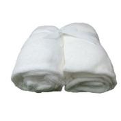 Cosy Fleece Microplush Crib Sheets, White by Cosy Fleece