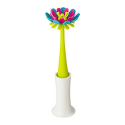 Boon Forb Silicone Bottle Brush, Blue/Pink by Boon