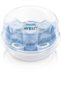 Philips AVENT BPA Free Microwave Steam Steriliser, SCF281/05 by Philips Avent