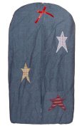 Patch Magic Nappy Stacker, Homespun Stars, 30cm x 60cm