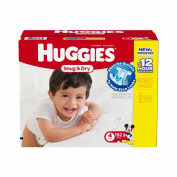 Huggies Snug & Dry Nappies - Size 4