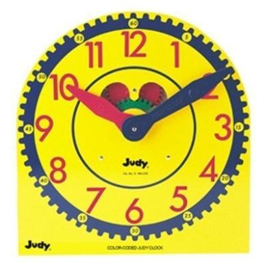 Judy Instructo Colour-Coded Judy Clock