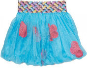 Wenchoice Blue & Hot Pink Petal Bubble Skirt Girl's