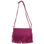 Dario Light Weight Fringe Cross-Body Tassel Shoulder Bag