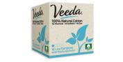 Veeda Lite Applicator Tampons 16 Count 100% Natural Cotton