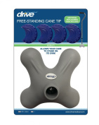 """Tip for Quad Cane by Drive Medical (tip only) - For use with ¾"""" diameter cane"""