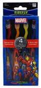 3/4 Count Boxes Marvel Heroes Toothbrushes By DR. Fresh Total Of 12 Toothbrushes