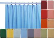 Elegant Home® Heavy Duty Vinyl Shower Curtain Liner with 12 Metal Grommets
