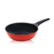 Roichen 30cm Wok with Ceramic Non-Stick Coating-100% PTFE and PFO Free