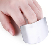 Zelta Finger Guard Digiclass Slicing Cutting Protector 6.6cm Stainless Steel Finger Protector Cutting