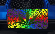 Weed Leaves Aluminium Licence Plate for Car Truck Vehicles