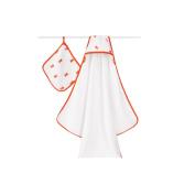 aden + anais Classic Hooded Towel & Washcloth Set - Splish Splash