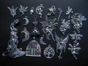 20pcs Magic Fairy Fantasy Door Mushroom Pendant Charms 3154 AVBeads