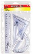 A & W Products Plastic Geometry Set, 4-Piece